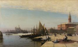 Lot 6 Bogoliubov, View of Venice with Santa Maria della Salute in the Background