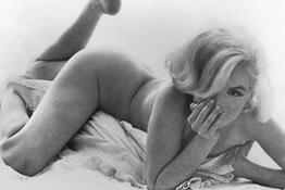 Marilyn Monroe Reclining Bed ┬®The Bert Stern TrustCourtesy Staley-Wise Gallery New York