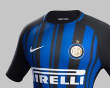 Fy17-18 Club Kits H Crest Match Inter Milan R original