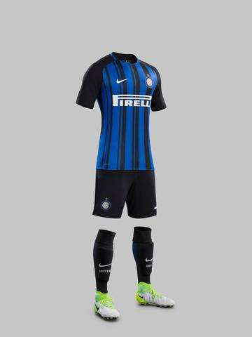 ... Fy17-18 Club Kits H Full Body Match Inter Milan R original 0a213788a