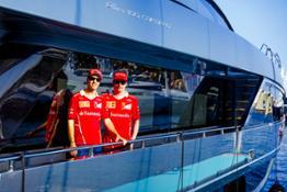 Riva 100' Corsaro Scuderia Ferrari