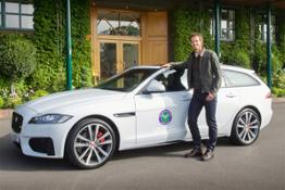 Andy Murray Jaguar XF Sportbrake