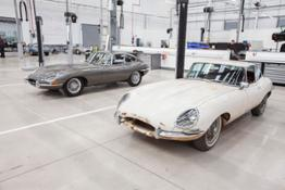 Jaguar E type Reborn Legends