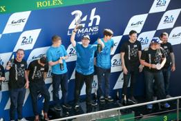 Michael-Coyne-on-Le-Mans-Podium-winning-Forza-Racing-Championship-1