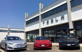 Tesla Service Center Milan Linate