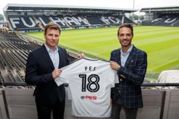 Konami Fulham Partnership Image