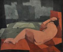 Felice-Casorati-Nudo-nel-paesaggio-1951-ca.