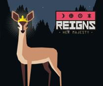 Reigns Her Majesty - Key Art Square