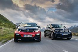 BMW i3, the new BMW i3s.