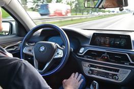 Vision of the future - autonomous driving.