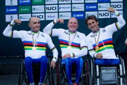 Photo Set - Tenth world title for BMW Brand Ambassador Alessandro Zanardi_ Italy wins gold in the para-cycling team relay.