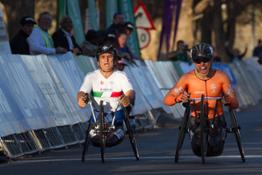 Photo Set - Silver medal for BMW Brand Ambassador Alessandro Zanardi in thrilling para-cycling road race.
