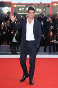 Riccardo Scamarcio wears Tommy Hilfiger Tailored