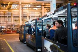 212491 Swedish football legend Zlatan Ibrahimovi visits Volvo Cars