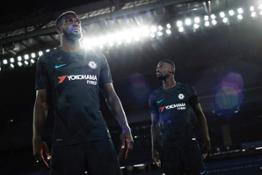 2017-18 Chelsea Third Kit - Tiemoue Bakayoko and Antonio Rudiger 73839