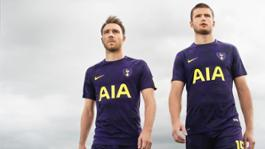 Tottenham Hotspur 2017-18 Third Kit - Christian Eriksen and Eric Dier 73836