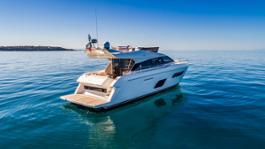 Ferretti Yachts 550 restyling