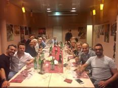 Cena dopo CDA Francoforte
