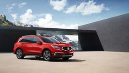 01 - 2018 Acura MDX with Advance Package - San Marino Red