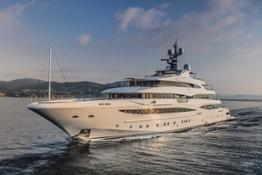 CRN Cloud 9 at Monaco Yacht Show 2017