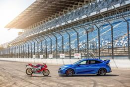 115029 HONDA CELEBRATES 25 YEARS OF TYPE R AND FIREBLADE AT GOODWOOD FESTIVAL OF