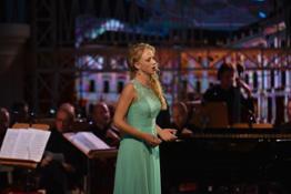 Opera singer Martina Fender