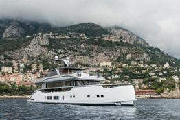 M:Y Jestetter (39m) in the bay of Monaco