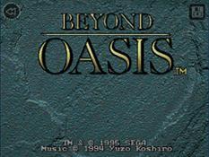 SEGA Forever - Beyond Oasis - title 1507711420