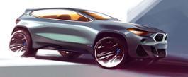 Photo Set - The new BMW X2 - Design Sketches.