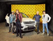 Rolling stones Jeep Compass