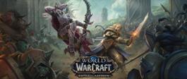 World of Warcraft Battle for Azeroth Anduin vs Sylvanas Key Art Logo