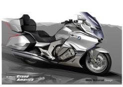 The new BMW K 1600 Grand America. Design.
