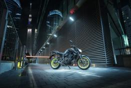 Yamaha MT-09 and MT-07
