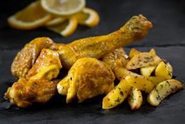 Pollo Campese all'italiana con patate
