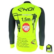 Ekoi SECURITY Long Sleeve Jersey Neon Green 1