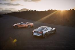 Photo Set - The new BMW i8 Roadster, the new BMW i8 Coupe.