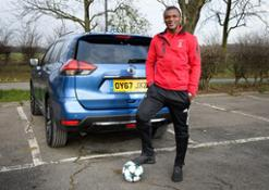 426212185 Nissan teams up with Desailly and Basler to set fans ultimate Challenge