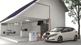 Con Nuova Nissan LEAF pannelli solari gratuiti in Giappone