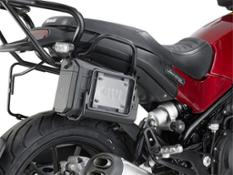 GIVI - MOTOR BIKE EXPO 2018 Accessories for BENELLI Leoncino 500