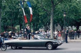 1995 - Investiture du President francais Jacques Chirac 1