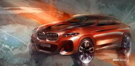 Photo Set - The all-new BMW X4 M40d – Design Sketches (02_2018).