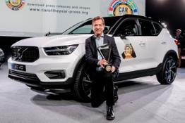 226140 Volvo Car Group President & CEO H†kan Samuelsson at the European Car of the