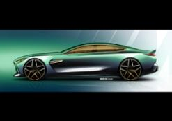 BMW Concept M8 Gran Coupe. Sketches
