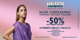 TORINO OUTLET VILLAGE  COMPLEANNO 240318