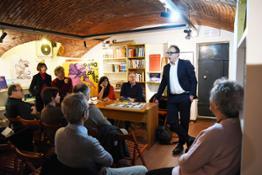Presentazione Cercando Valentina Fabio Simonelli, General Manager Italia Ulule