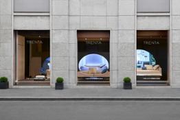 FENDI Casa Via Durini Store Windows