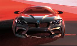 Photo Set - The new BMW M2 Competition - Design Sketch (04_2018).