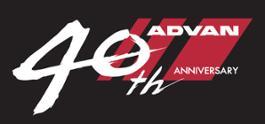 logo 40th advan