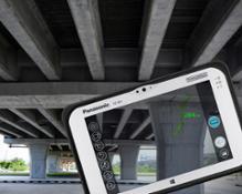 Panasonic Toughpad FZ-M1 RealSense bridge
