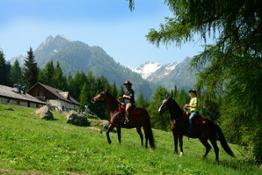 Equitazione Malga Pellizzano foto G.bernardi